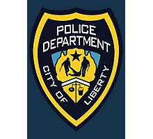 LCPD - Liberty City Police Department Photographic Print
