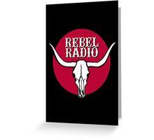 Rebel Radio Greeting Card