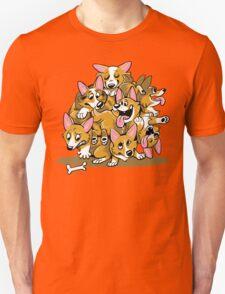 Corgi Cluster Unisex T-Shirt