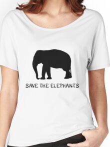Save the Elephants Women's Relaxed Fit T-Shirt