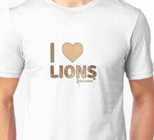 I Love Lions Unisex T-Shirt