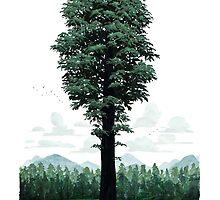 Giant Sequoia Portrait by Fil Gouvea
