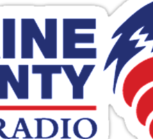 Blaine County Talk Radio Sticker