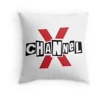 Channel X  Throw Pillow