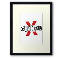 Channel X  Framed Print