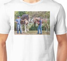 Clydesdales 03 Unisex T-Shirt