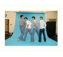 ballet boys club Art Print