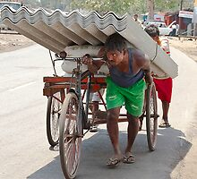 Struggling for Livelihood by Mukesh Srivastava