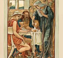 A Wonder Book for Girls and Boys by Nathaniel Hawthorne illustrated by Walter Crane 209 - The Strangers Entertained by wetdryvac