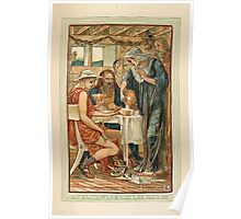 A Wonder Book for Girls and Boys by Nathaniel Hawthorne illustrated by Walter Crane 209 - The Strangers Entertained Poster
