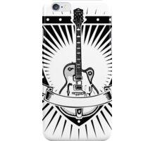 guitar shield iPhone Case/Skin