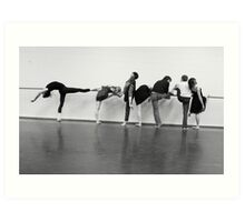 Butler Dancers Art Print