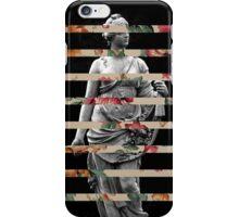 FLORAL STATUE iPhone Case/Skin