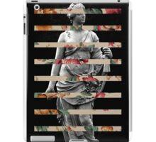 FLORAL STATUE iPad Case/Skin