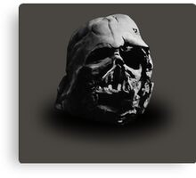 Darth Vader's Ruined Helmet Canvas Print