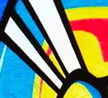 graffiti 1 Sticker