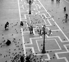 St Marks Square Venice by Geoff Smith