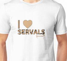 I Love Servals Unisex T-Shirt