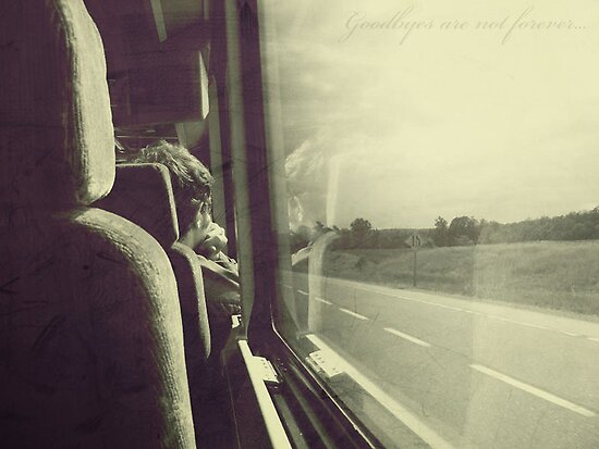 Goodbyes are not forever... by Th3rd World Order