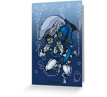 """""""... And I am the SHARK"""" Greeting Card"""