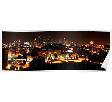 Kansas City At Night Poster