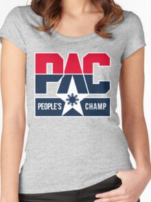 PAC People's Champ Dream Team by AiReal Women's Fitted Scoop T-Shirt