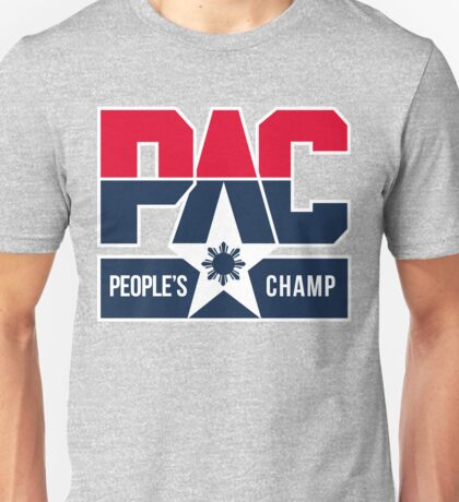 PAC People's Champ Dream Team by AiReal Unisex T-Shirt