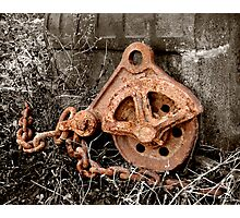 Rusty Metal Photographic Print