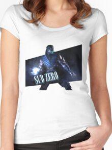 Mortal Kombat - Sub-Zero Women's Fitted Scoop T-Shirt