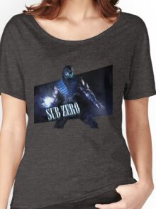 Mortal Kombat - Sub-Zero Women's Relaxed Fit T-Shirt