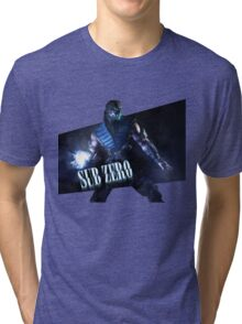 Mortal Kombat - Sub-Zero Tri-blend T-Shirt