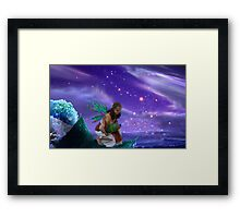 Keeper of the stars Framed Print