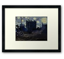 FUTURE STARRY NIGHT? Framed Print