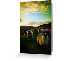 Sundown Achill Greeting Card