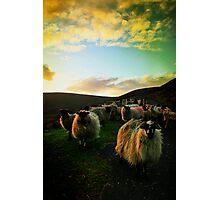 Sundown Achill Photographic Print