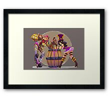 League of Legends Arm Wrestle Framed Print