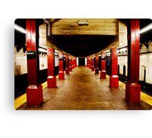 Underground Matrix Canvas Print