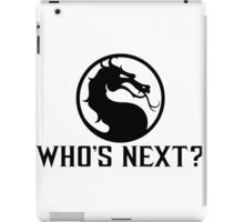 Who's NeXt? iPad Case/Skin