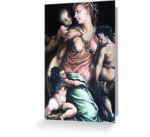 after renaissance master Salviati  -  Charity Greeting Card