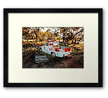 Rustic Outback Framed Print