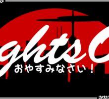 LightsOut Team Sticker Sticker