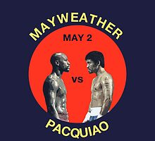 Mayweather vs Pacquiao by ches98