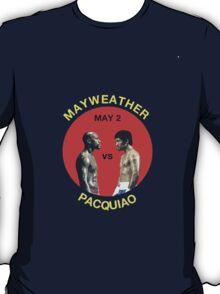 Mayweather vs Pacquiao T-Shirt