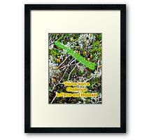 Banner - Winner - Ferns & Mosses Challenge - Not for Sale Framed Print