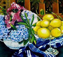 """Still LIfe - Oil Painting by Belinda """"BillyLee"""" NYE (Printmaker)"""