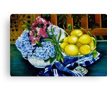 Still LIfe - Oil Painting Canvas Print
