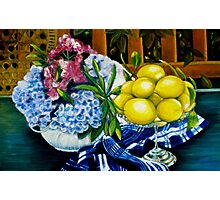 Still LIfe - Oil Painting Photographic Print