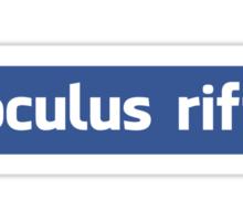 Oculus Rift - Clean Sticker