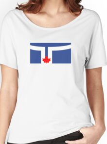 Flag of Toronto  Women's Relaxed Fit T-Shirt