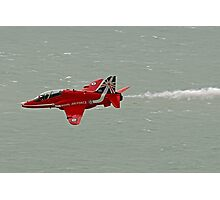 Single Arrow Fast And Low - Beachy Head - Eastbourne 2014 Photographic Print